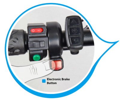 IBS braking button